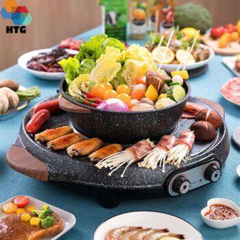 Bếp lẩu nướng tròn Suncojia LZW-1903