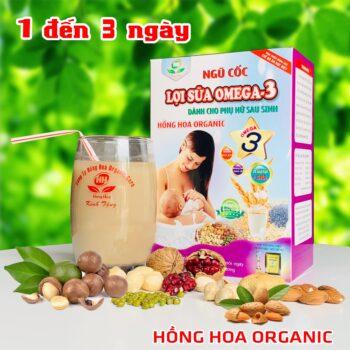 Hồng Hoa Organic – Lợi Sữa OMEGA3