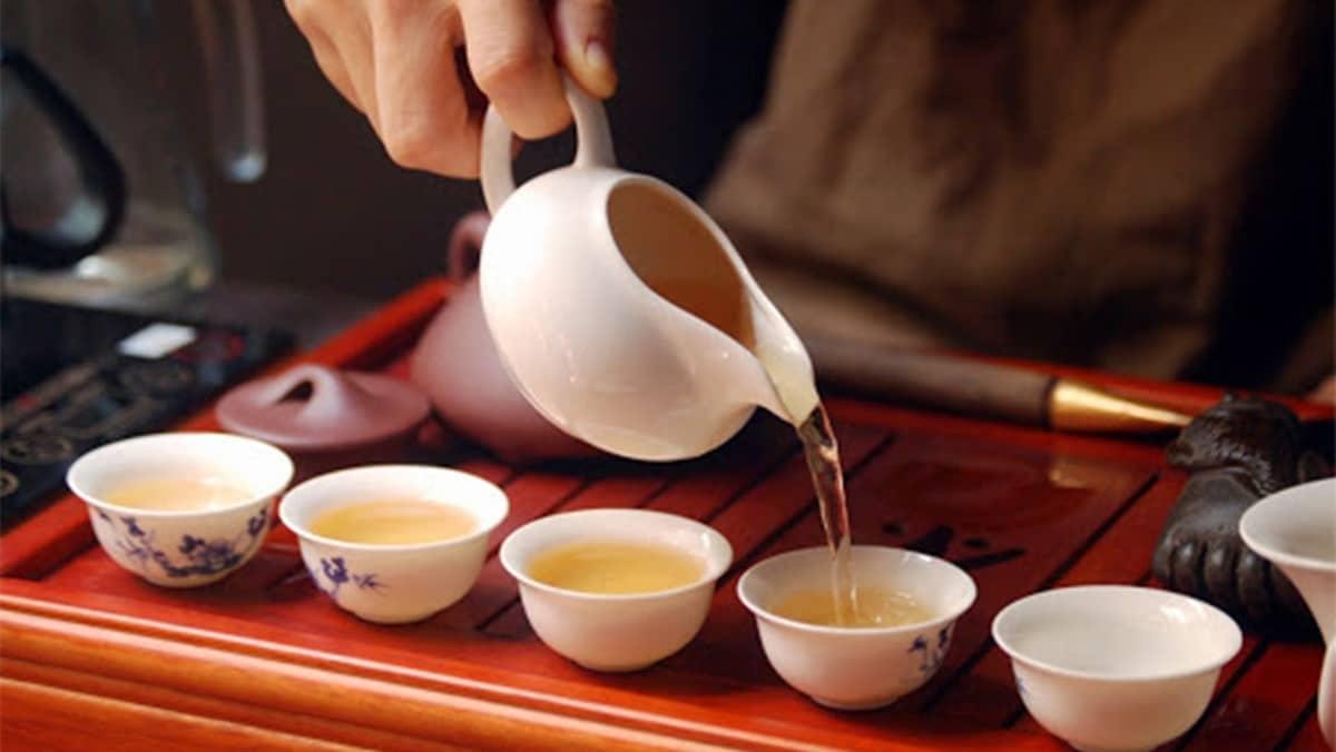Cách pha trà Thái Nguyên theo kiểu công phu