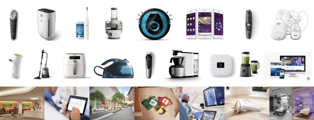 Một số sản phẩm của thương hiệu Philips