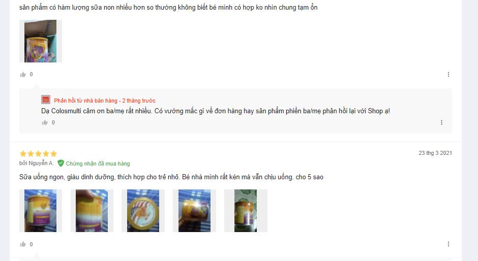 Review chi tiết sữa trẻ em Colos Multi 100 Plus - có đáng mua không? - 2