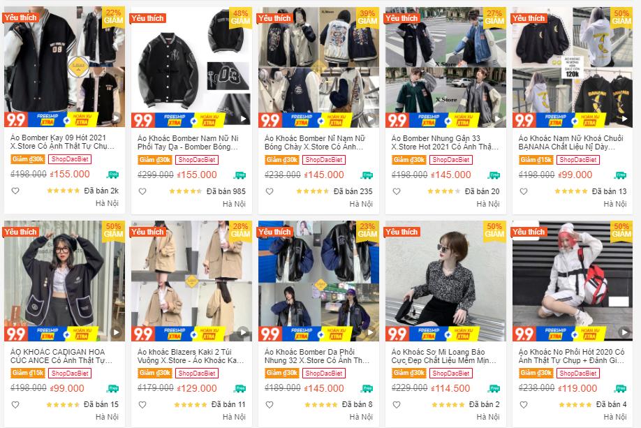 X.Store - Thời Trang Hot Trend