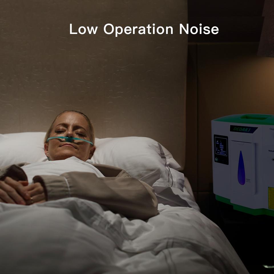 Máy tạo oxy gia đình DEDAKJ có độ ồn thấp