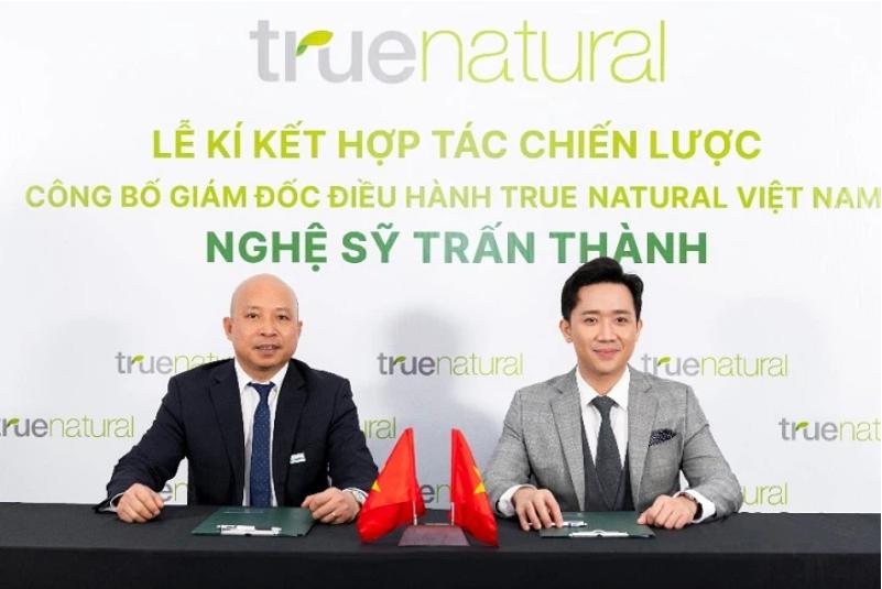 Nghệ sĩ Trấn Thành - Giám đốc điều hành của True Natural Việt Nam